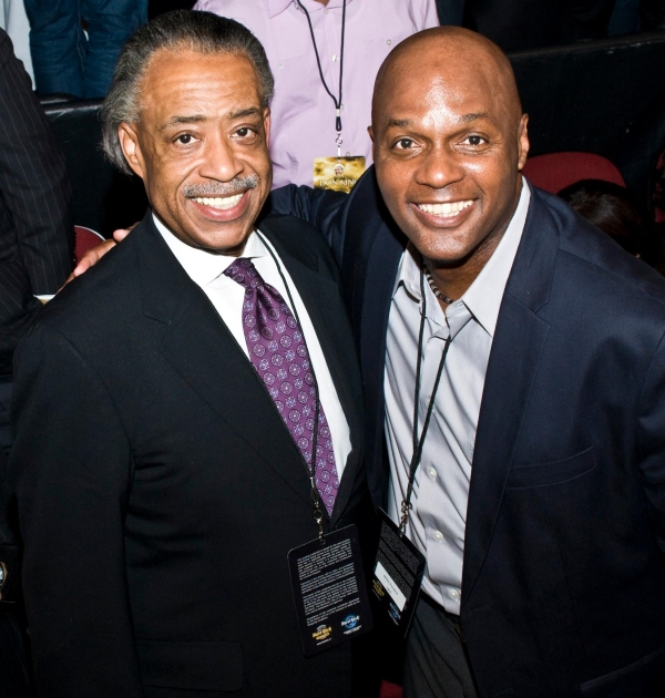 Wilie Panama and Al Sharpton