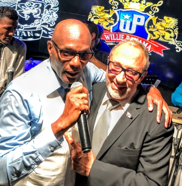 Willie Panama and Emilio Estefan